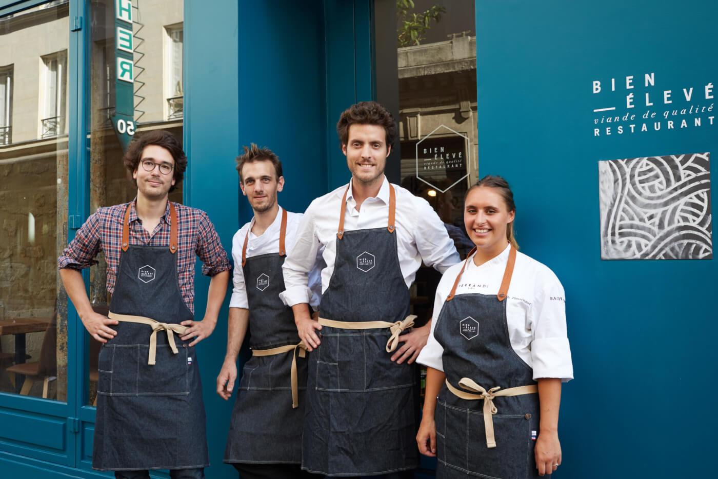 equipe-bien-eleve-paris-restaurant
